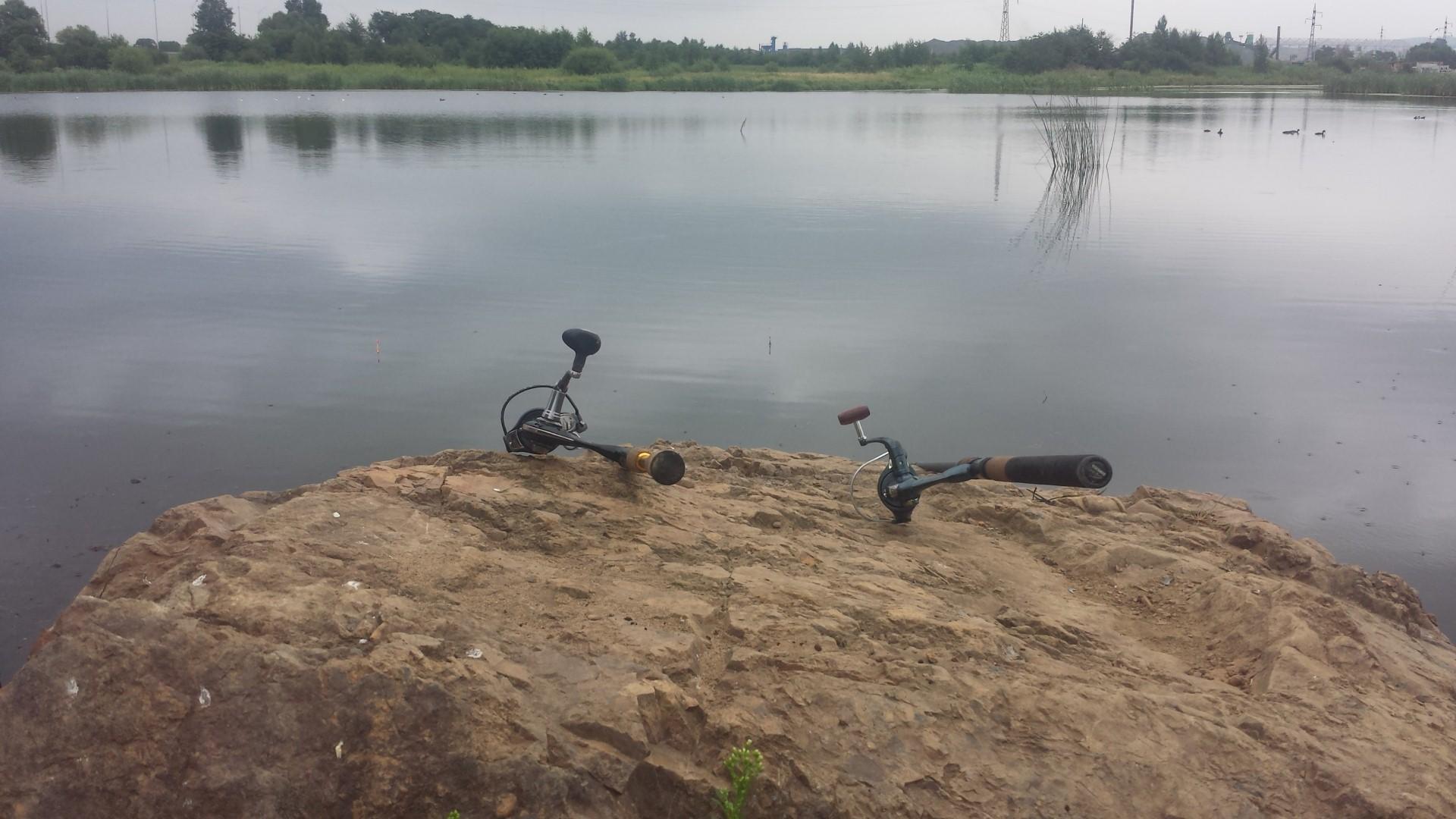 рыбалка пруд август