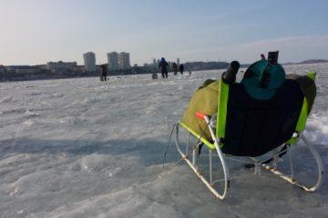 Отчёт о рыбалке на Набережной в феврале 2018