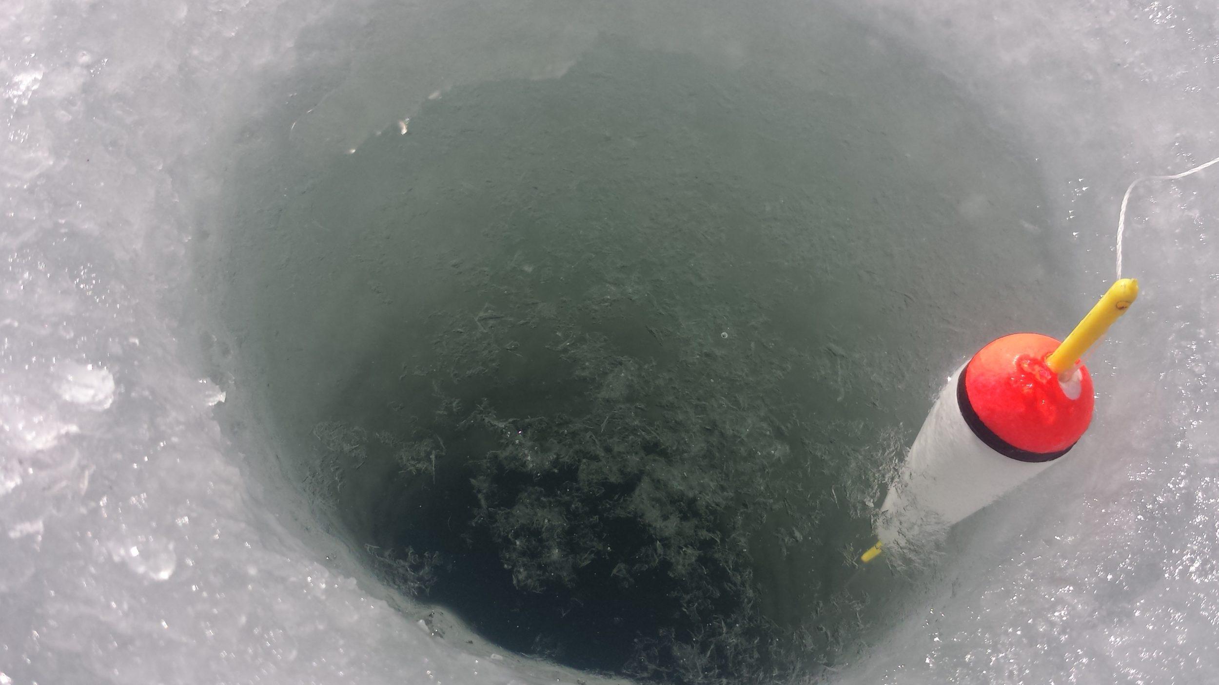 Поплавок на леща зима